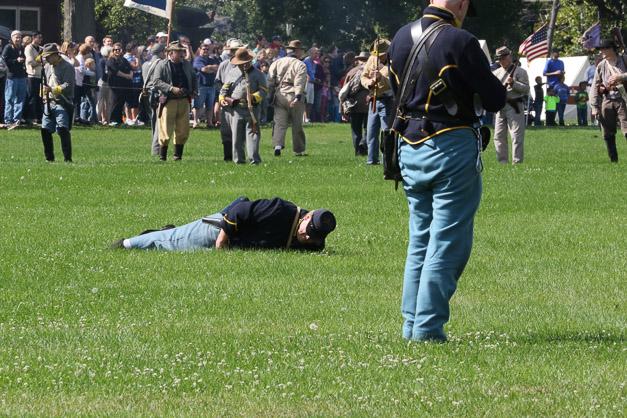 Post - Barrington Sesquicentennial Civil War Reenactment-122
