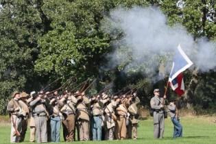 Post - Barrington Sesquicentennial Civil War Reenactment-126