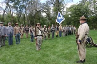 Post - Barrington Sesquicentennial Civil War Reenactment-83