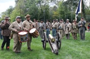 Post - Barrington Sesquicentennial Civil War Reenactment-84