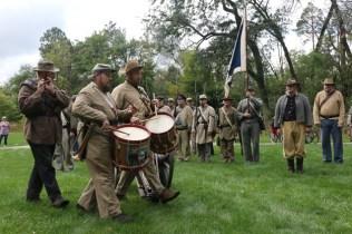 Post - Barrington Sesquicentennial Civil War Reenactment-85