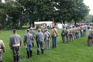 Post - Barrington Sesquicentennial Civil War Reenactment-86
