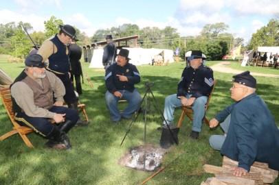 Post - Barrington Sesquicentennial Civil War Reenactment-93