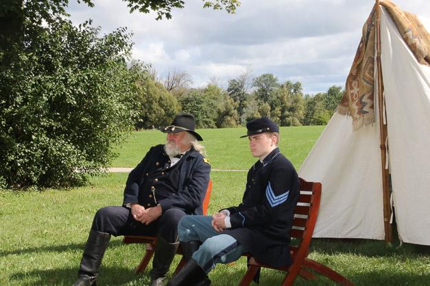 Post - Barrington Sesquicentennial Civil War Reenactment-95