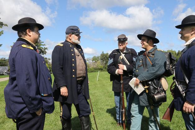 Post - Barrington Sesquicentennial Civil War Reenactment-97