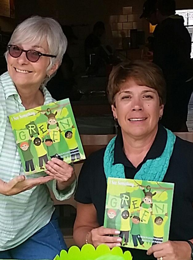 Author Marsha Bergstrom Georgiopoulos & Illustrator Gail Diedrichsen