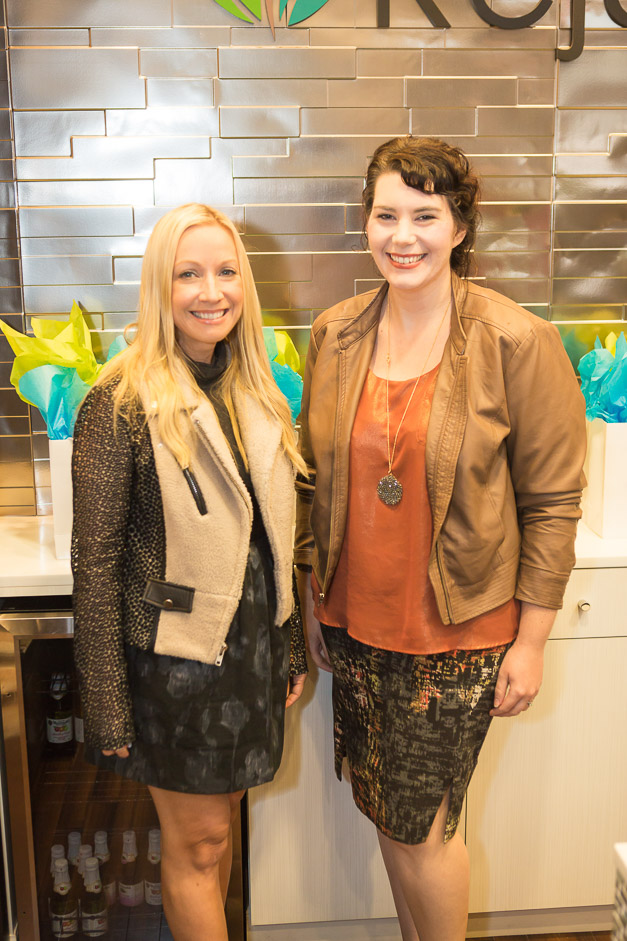 Designers Michelle Pelafas and Valerie Putman - Photo by Sally Roeckell
