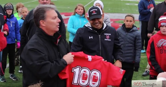 Coach Sanchez 100th Career Win