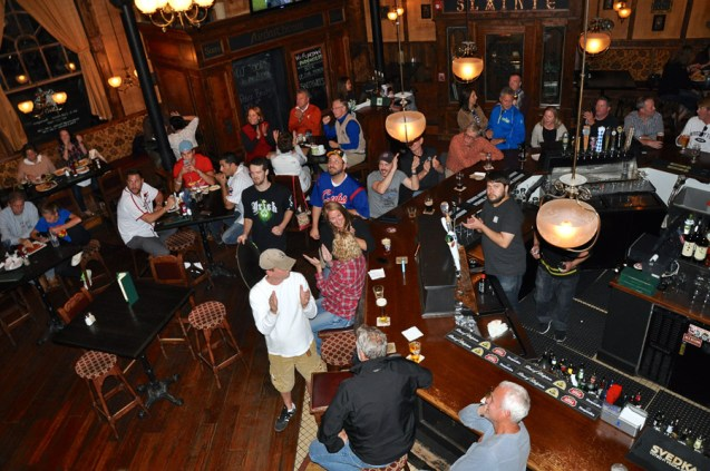 Cubs Fans at McGonigal's Pub