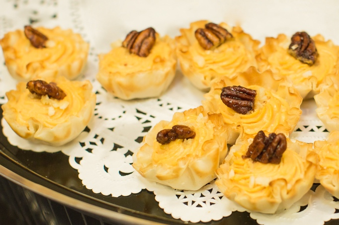 Heinen's stuffed puff pastry shells - Photo by Sally Roeckell