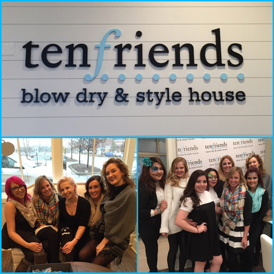 Post 900 - 10 Friends Blow Dry & Style House - 4