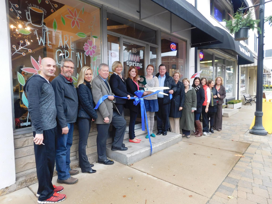Post 900 - Spring Donut Ribbon Cutting - 1