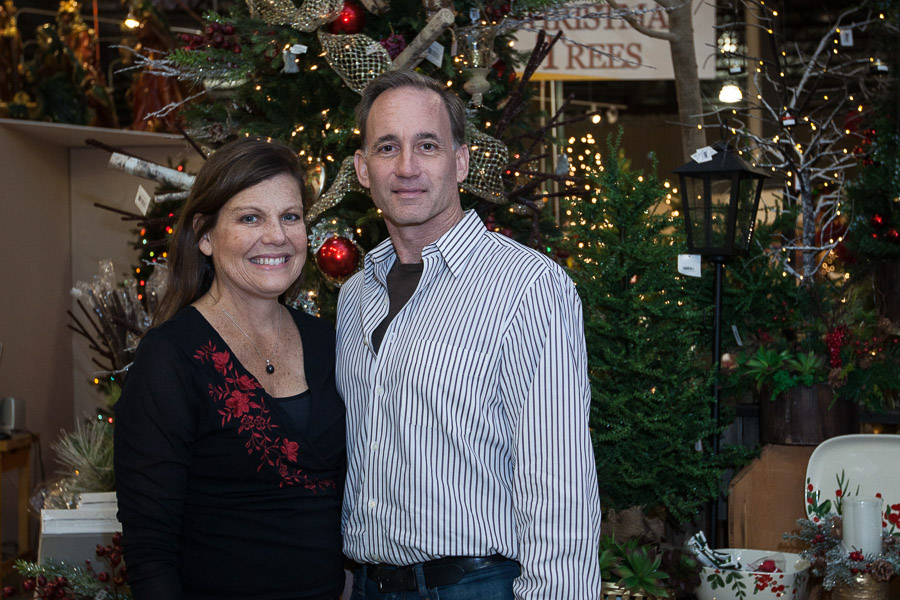 Treetime Christmas Creations Co-owners, Joe and Laurie Kane