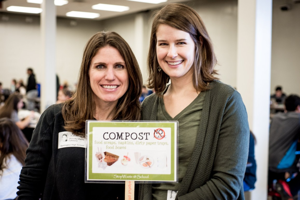 Mindful Waste Co-founders, Jennifer Kainz and Renee Blue