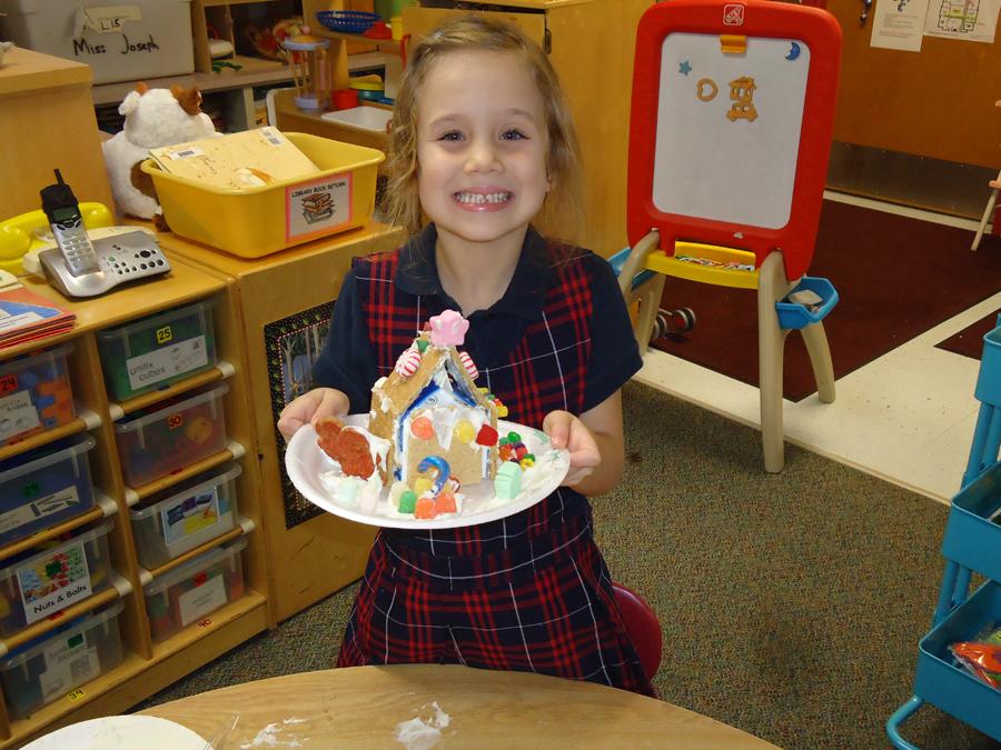 Saint Anne Parish School Kindergarten in December