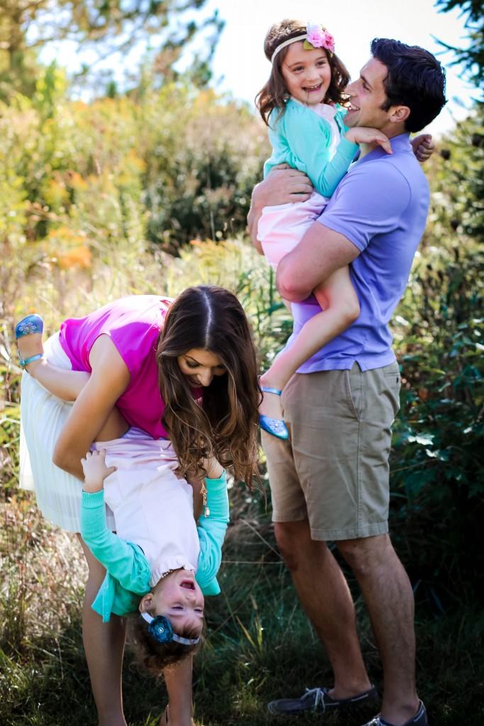 Kate, Doug, Alexa and Annabelle Smith - Photo by Sarah Carter