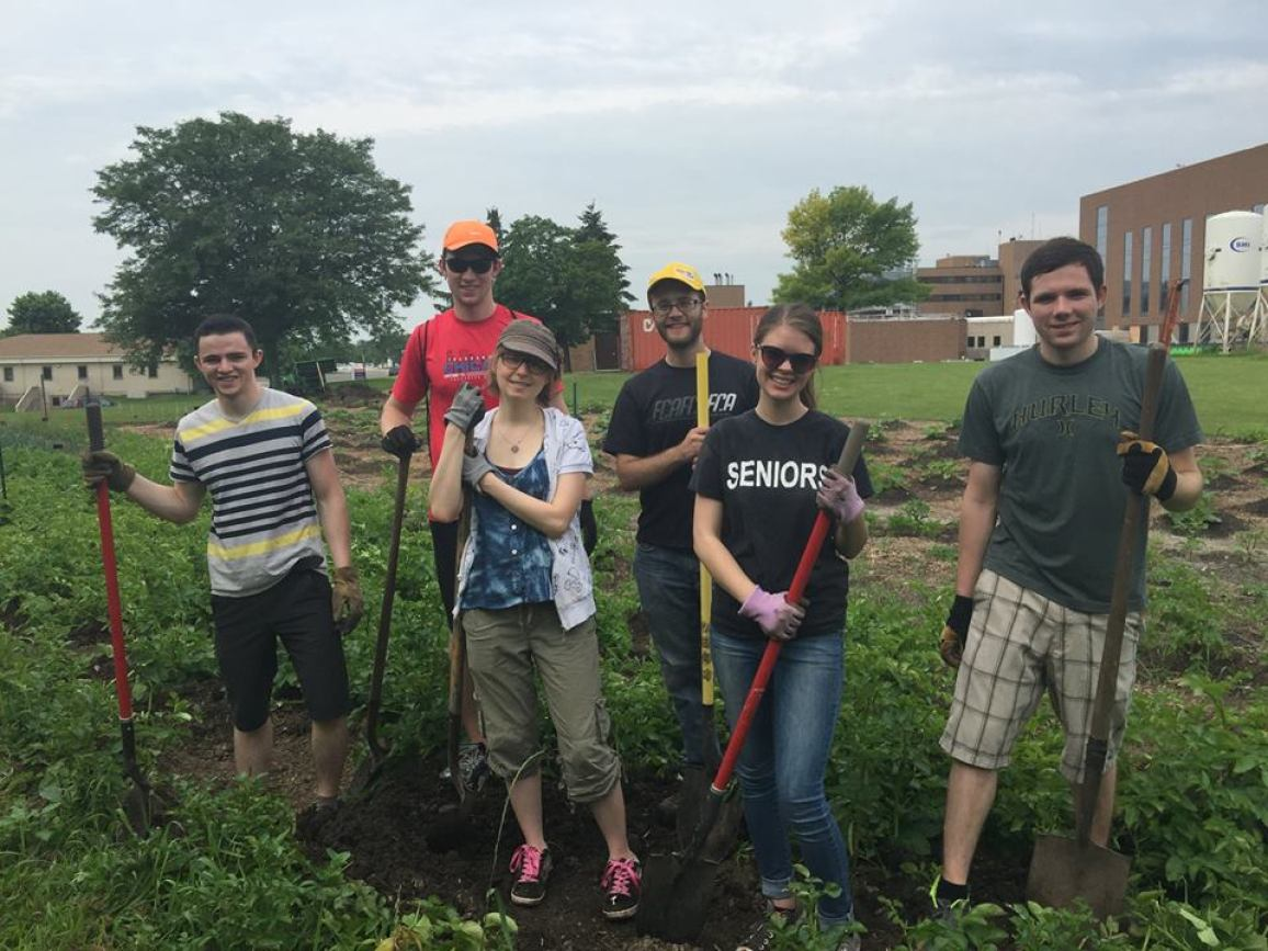 Smart Farm Clean Up Day