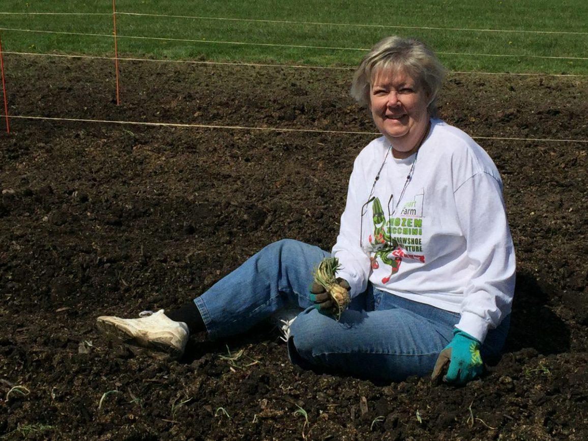 Kathy Phelan, Trauma Coordinator at Advocate Good Shepherd and Smart Farm Volunteer