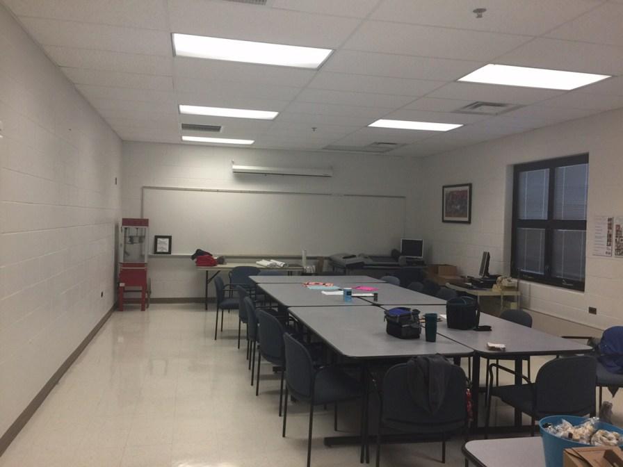 Teachers' Lounge - Before