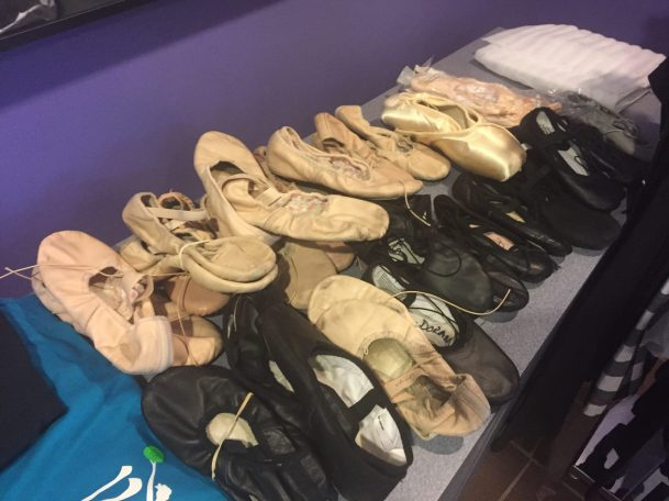 Great deals on on gently used dancewear ($5 ballet shoes) at Barrington Dance Academy