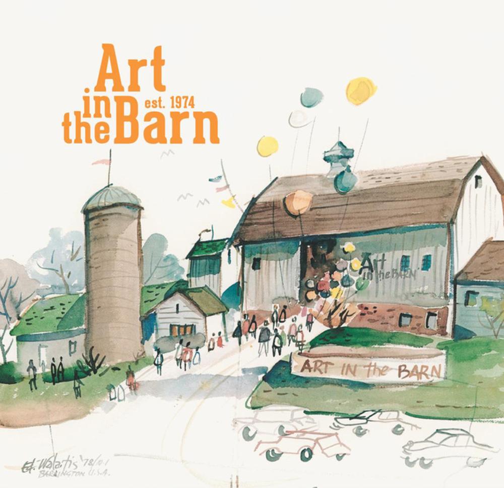 Post 1000 - Art in the Barn Logo