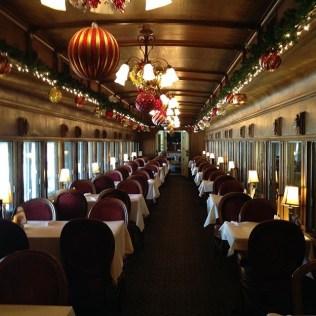 Christmas at Chessie's Restaurant