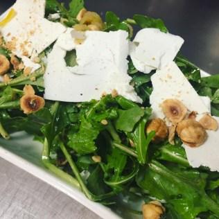 Near Restaurant - Arugula Salad with Hazelnuts & Ricotta