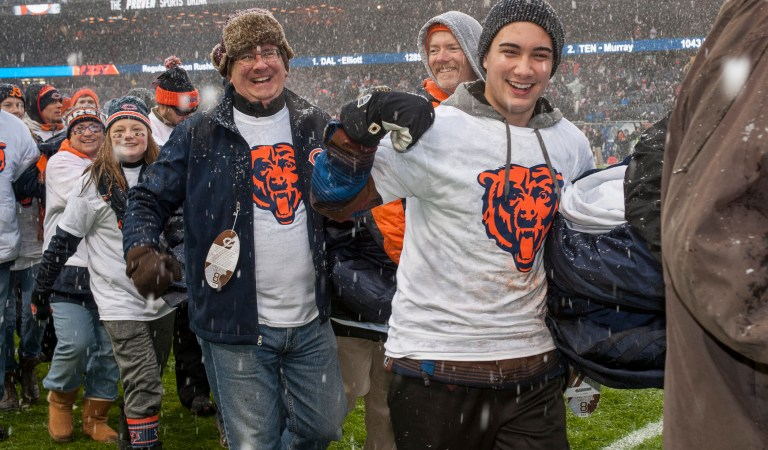 Good Shepherd Hospital Plans Chicago Bears Honor for Barrington Teen Who Saved Father's Life