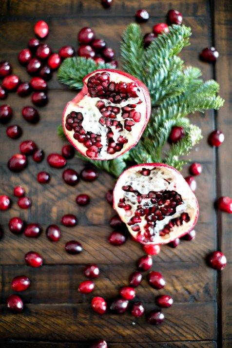 Holiday Brunch Fritatta and Pomegranate Crostini, IL_Modern Farmette_001