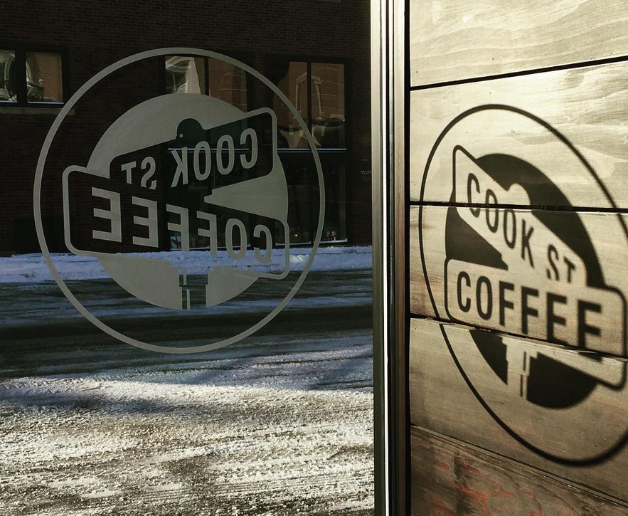 Cold vs. Cozy - Cook Street Coffee