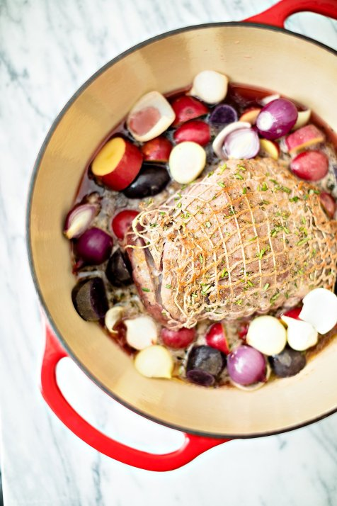 Hard Cider Wild Boar with Whiskey Apples, IL_Modern Farmette_004