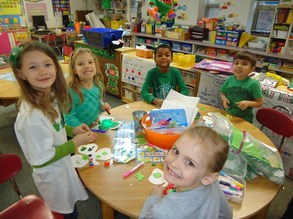 Post - Kindergarten for a Day - March