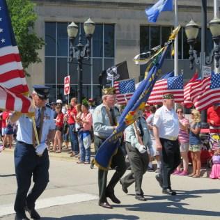 Barrington Memorial Day Parade - Photo by Bob Lee