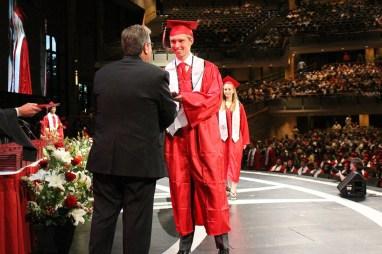 365 - Brad Paisley Performs Barrington High School Graduation - -25