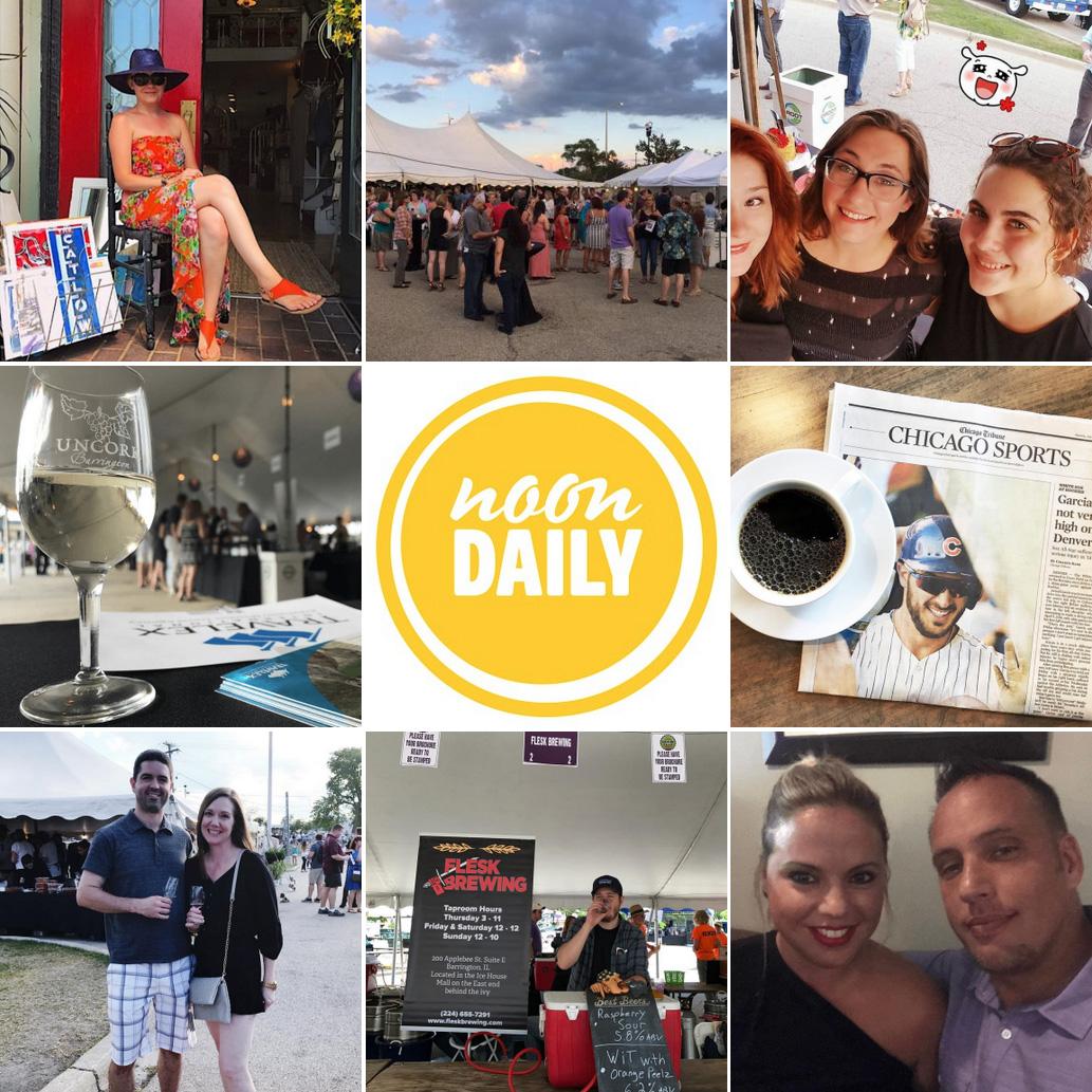 NoonDaily - Uncork, Brewfest, Weekend Flashback