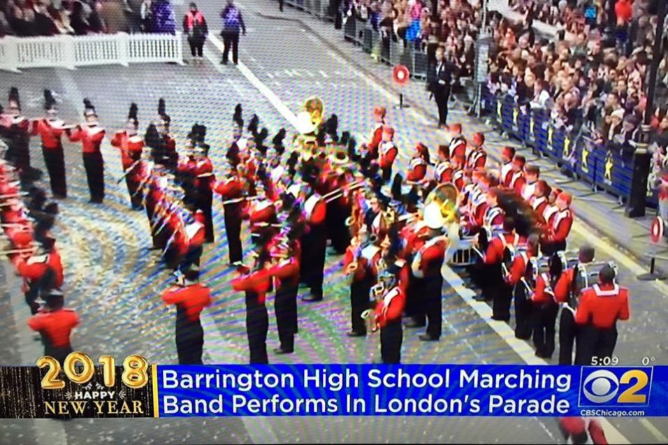 BHS London New Year's Parade 2018 - 1