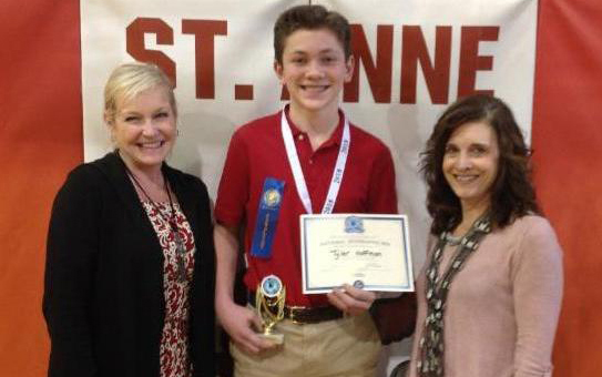 Saint Anne Parish School Student Named National Geographic State Bee Semifinalist