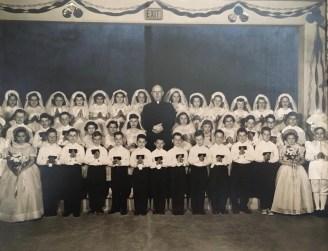 Saint Anne Parish School - 1955 - First Communion