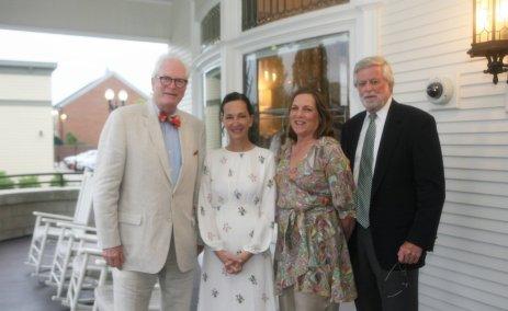 Cynthia Rowley Visit - White House Gala