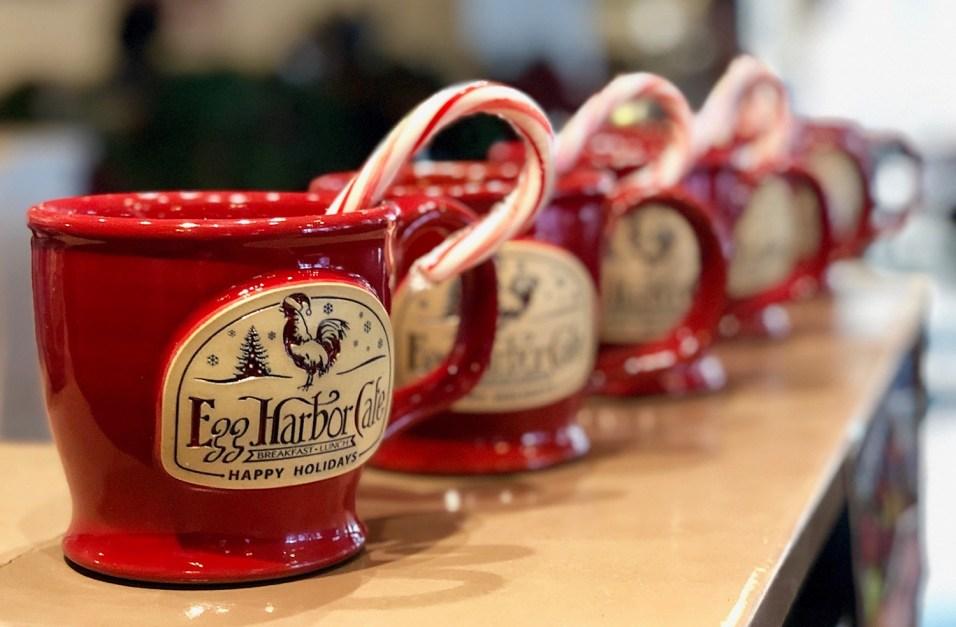 Hero - Egg Harbor Cafe - Deneen Pottery Holiday Mug - 7