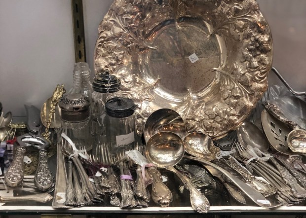 Paris Market Antiques - Silver - 14
