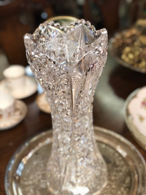 Paris Market Antiques Crystal - 7