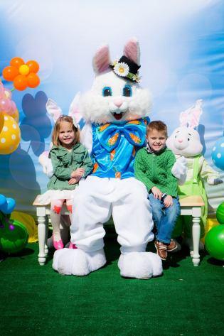 Deer Park Town Center Easter Bunny Visits - 1
