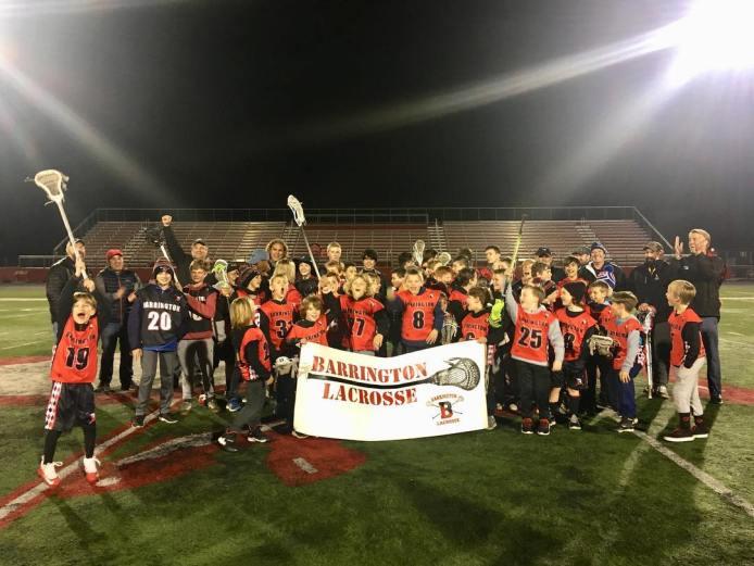 Barrington Youth Lacrosse Senior Night - 12