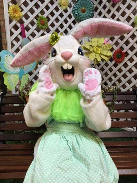 Easter Bunny Ice House Mall - 2