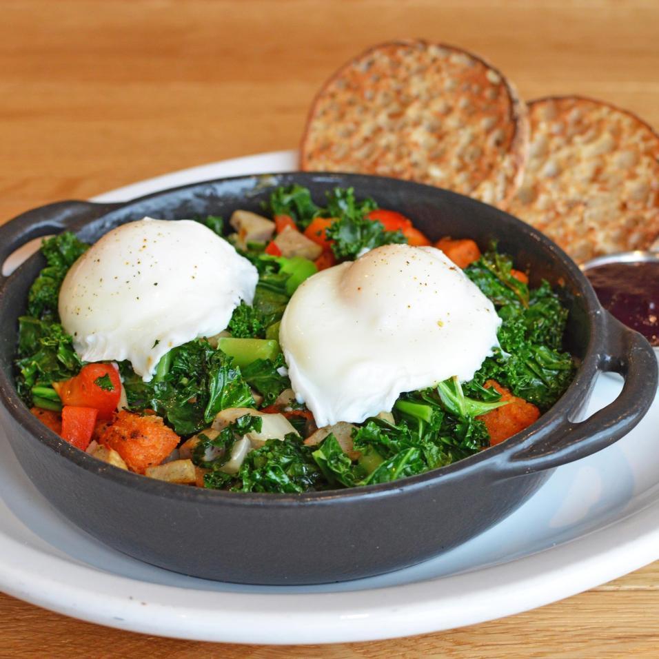 Egg Harbor Café Kale Yeah Skillet