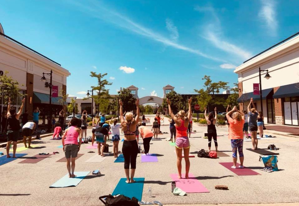 Hero - Deer Park Town Center Yoga - 1