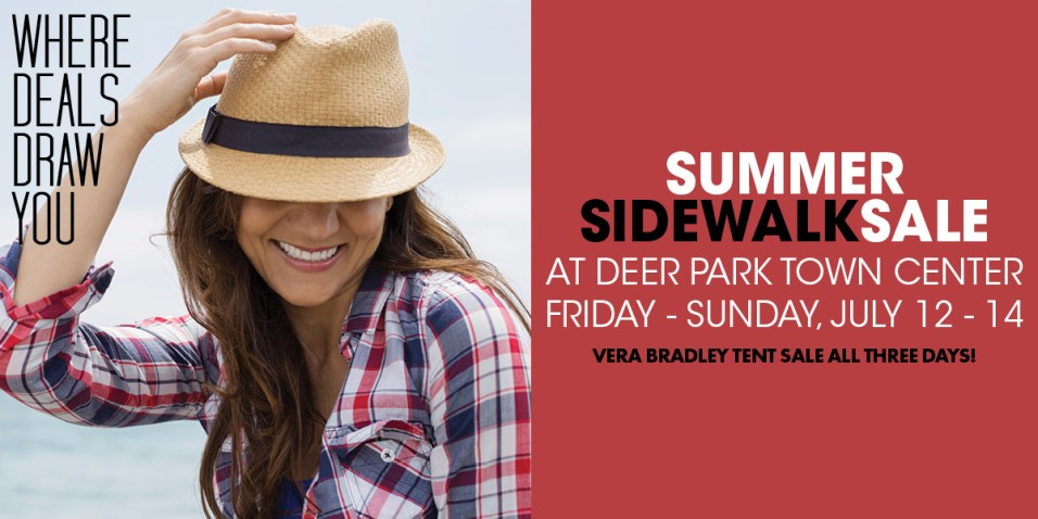 365 - Deer Park Town Center Summer Sidewalk Sale 2019