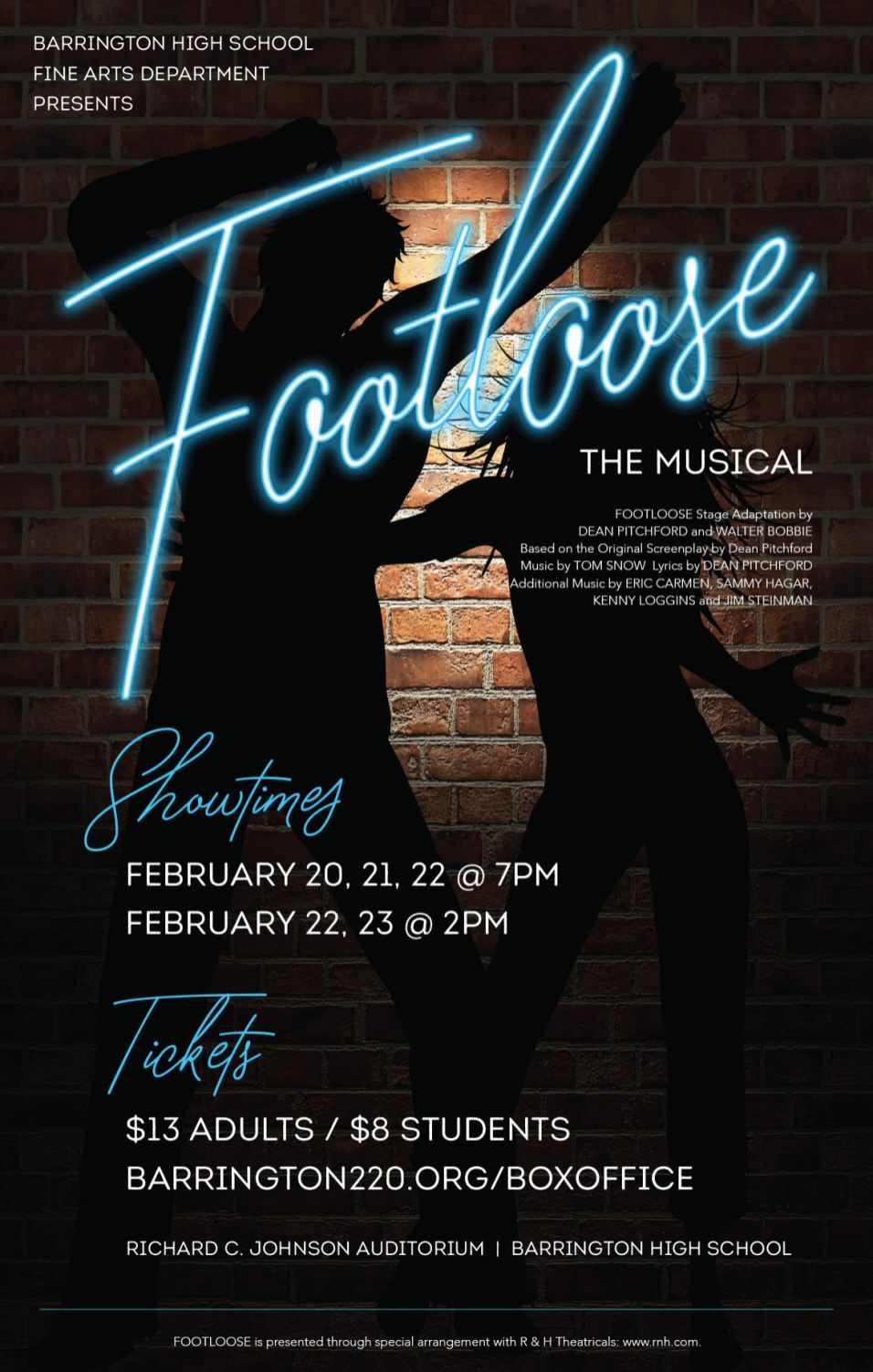 Footloose Musical at Barrington High School