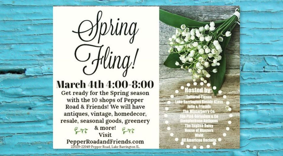 Pepper Road and Friends Spring Fling 2020
